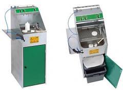 ROSAUTO mini pulverizātoru mazgāšanas mašīna ūdens krāsām 177X